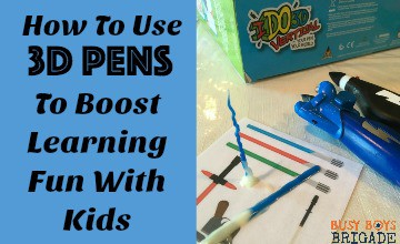 How To Use 3D Pens To Boost Learning Fun With Kids