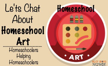 Let's Chat About Homeschool Art Curriculum