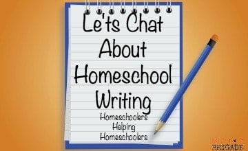 Let's Chat About Homeschool Writing Curriculum