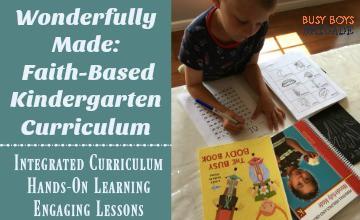Wonderfully Made: Faith-Based Kindergarten Curriculum