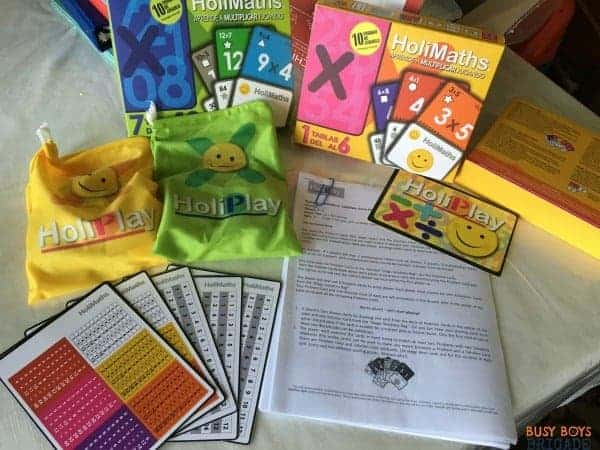 HoliMaths X is a fun family math game that is great for building confidence with multiplication.