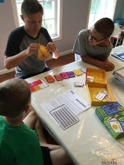 This innovative family math game by HoliPlay Games is a fantastic way to help build multiplication confidence.