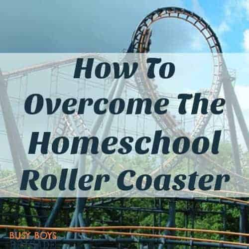Find out how to overcome the homeschool roller coaster in my guest post over at Kingdom First Homeschool.