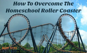How To Overcome The Homeschool Roller Coaster