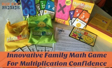 Innovative Family Math Game For Multiplication Confidence