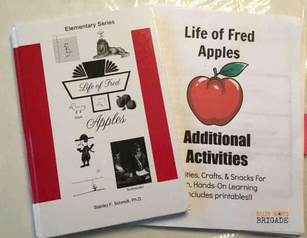 Life of Fred Apples Additional Activities is a great way to include hands-on activities, crafts, & snacks into your learning fun with Fred.