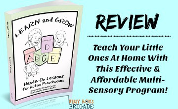 Learn & Grow: Hands-On Lessons For Active Preschoolers Review