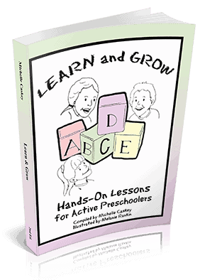 Learn & Grow: Hands-On Lessons for Active Preschoolers is a fantastic way to give your kids a quality preschool education at home.