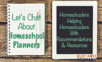 Let's Chat About Homeschool Planners