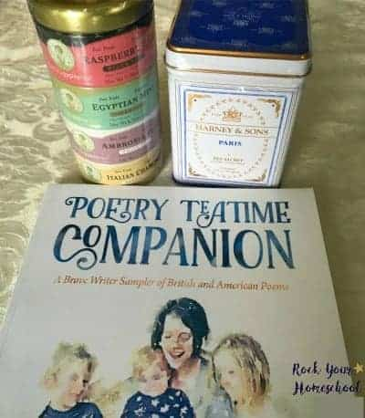 Poetry teatime can help you make your back-to-homeschool first day special!