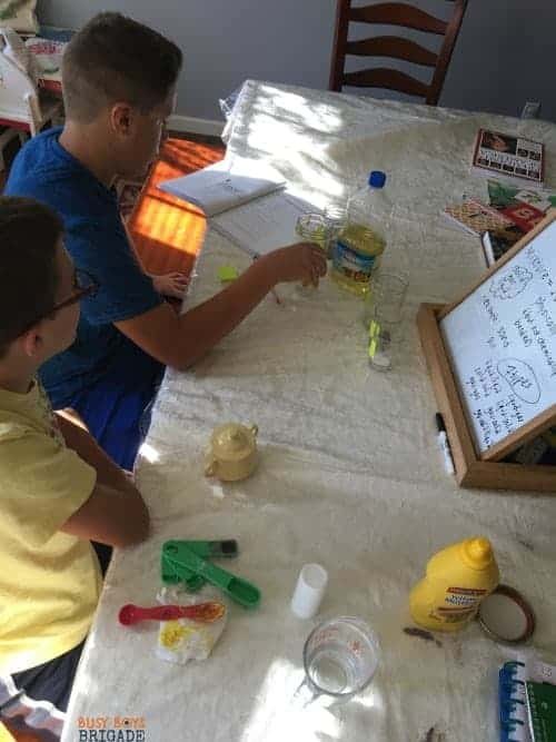 Hands-on activities and straightforward lessons make Christian Kids Explore Chemistry a fantastic choice for homeschool middle school science.