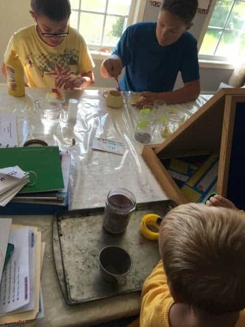 Christian Kids Explore Chemistry can be adapted to combine ages.