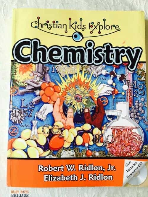 Christian Kids Explore Chemistry is part of a series of homeschool middle school science books. Simple yet effective, this affordable resource gets the job done!