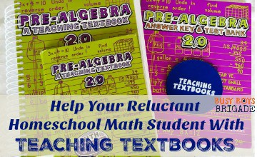 Help Your Reluctant Homeschool Math Student With Teaching Textbooks