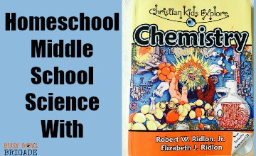 Homeschool Middle School Science With Christian Kids Explore Chemistry