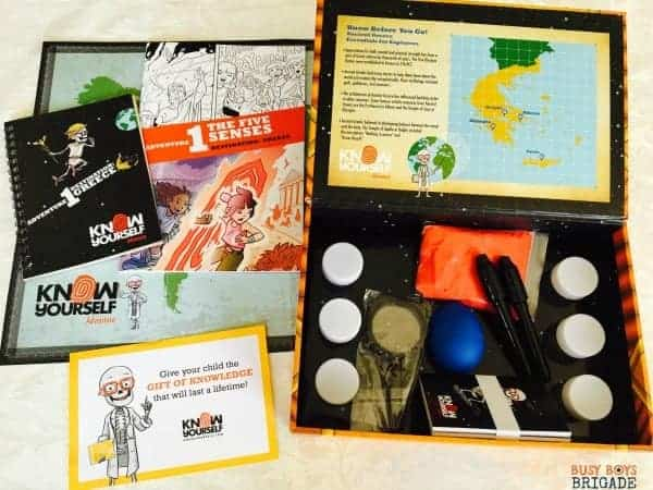 The Know Yourself Adventure Series is a fantastic way to add STEAM-based learning fun to your homeschool.