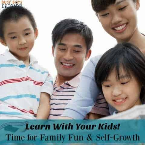 Make deep connections with your kids when you learn beside them. Learn with your kids to gain knowledge & experience self-growth.