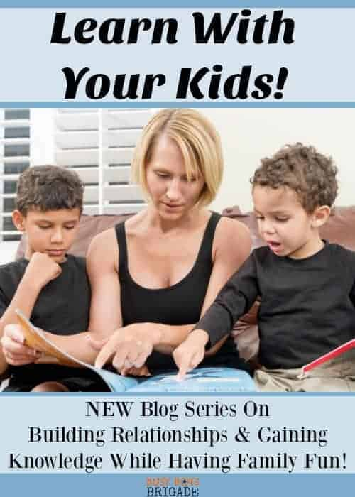 Are you looking for ways to build relationships with your kids? Want to learn a new skill or about a new topic? Find out why these types of activities are awesome for your family-and you! Follow along this new series to discover ways to add family fun while gaining knowledge.