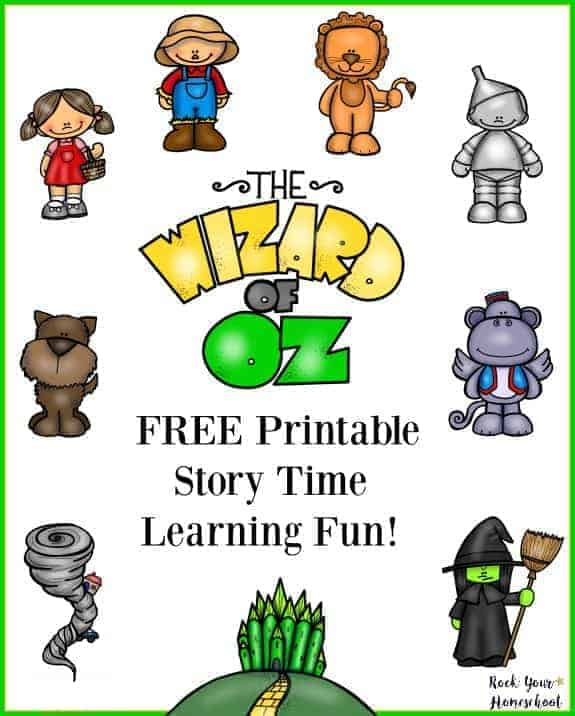 Free Printable Pack of Wizard of