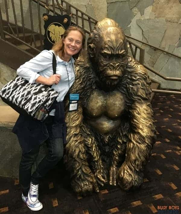 You can make all types of friends and connections as a homeschool blogger at conferences.