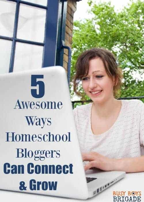 Have you tried these 5 awesome ways for homeschool bloggers to connect & grow? Learn more about boosting your blog & yourself with these resources. Also, learn more about an amazing conference that will rock your homeschool blogging world!