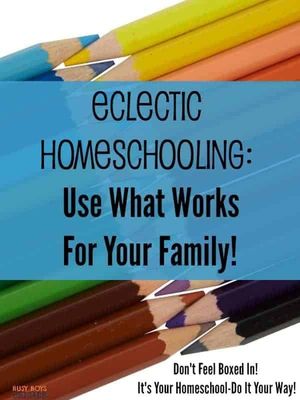 Do homeschool choices send you running? Overwhelmed with what will work best with your family? Find out why relaxed, eclectic homeschool works for our homeschool-and how it can work for you! Exercise your homeschool freedoms!