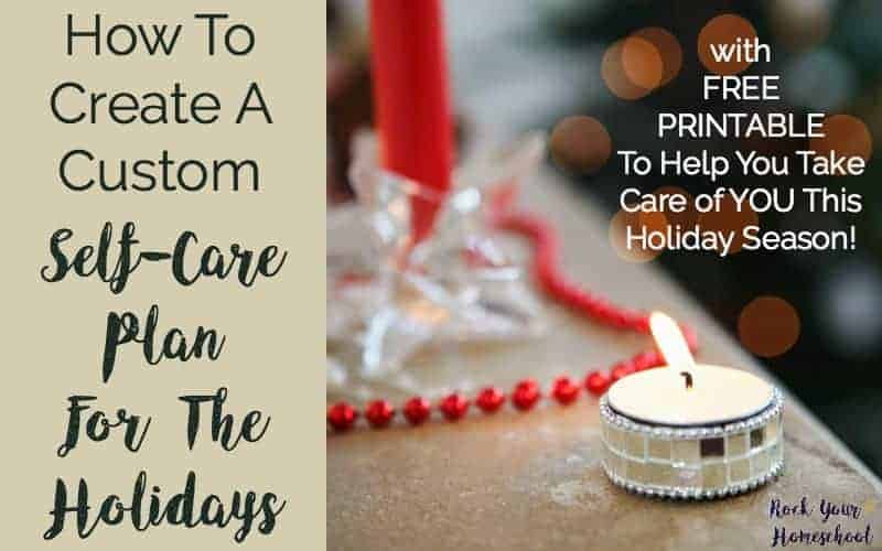 How To Create A Custom Self-Care Plan For The Holidays