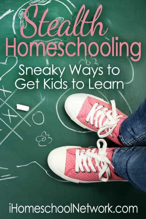 Discover tips on sneaky math fun & more stealth homeschooling ideas over at iHomeschool Network!