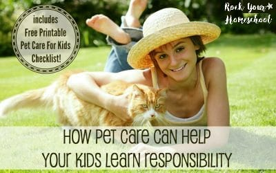 How Pet Care Can Help Your Kids Learn Responsibility