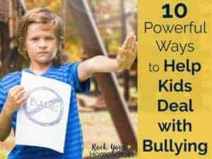 When your child is the victim of bullying, you can feel hopeless, angry, & scared. Read about our family's experiences with bullying & get the tips & tools you need to help your child overcome bullying.