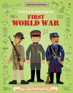 History sticker books are great for hands-on learning fun.