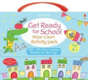 Kids love to use wipe-clean books again & again in your homeschool.