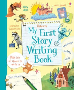 First writers can benefit from resources that provide prompts and guides.