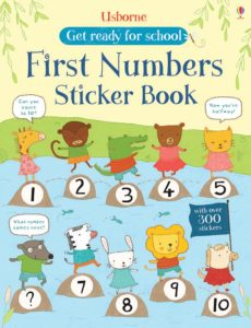 First Numbers sticker book COVER.indd