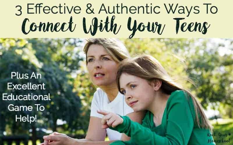 3 Effective & Authentic Ways To Connect With Teenagers