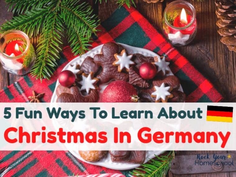 Enjoy learning with your kids about Christmas in Germany with these fun ideas. Great for ways to keep the learning fun going around the holidays. #christmasingermany #christmasaroundtheworld #christmasfun