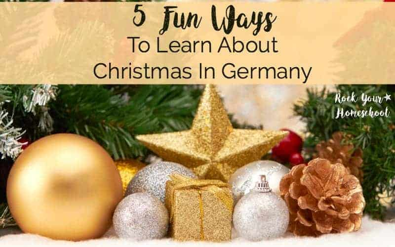 Have some easy holiday fun with kids with these 5 ways to learn about Christmas in Germany.