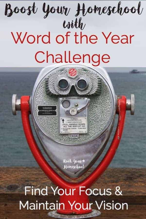 Ready to Rock Your Homeschool in 2017? Join our Word of the Year email challenge to help you find your focus & maintain your vision. 5 Days of emails with resources, tips, & encouragement. Plus, community of homeschoolers to share & discuss.