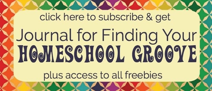 If you are looking for a simple & affordable way to cultivate personal, family, & homeschool growth, this free printable Journal for Finding Your Homeschool Groove is what you want. With monthly themes and weekly prompts plus an introduction to effective journal keeping, this resource will help you rock your homeschool-and beyond!