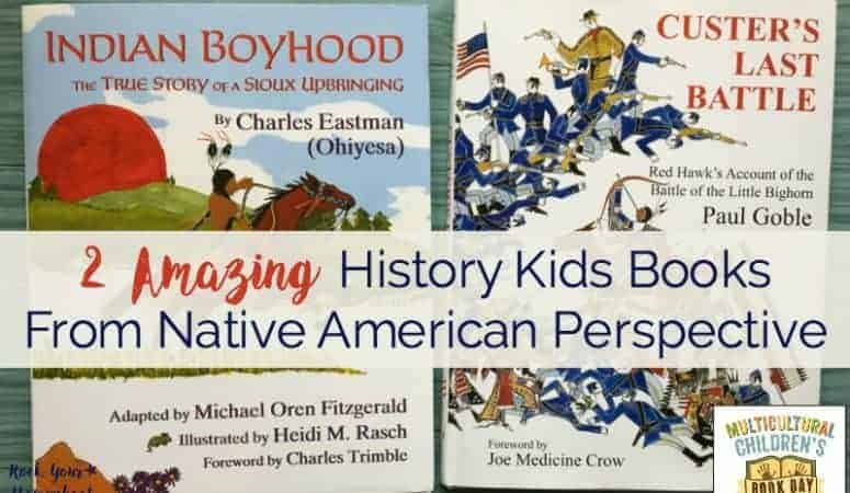 2 Amazing History Kids Books From Native American Perspective