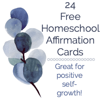 24 Free affirmation cards product page