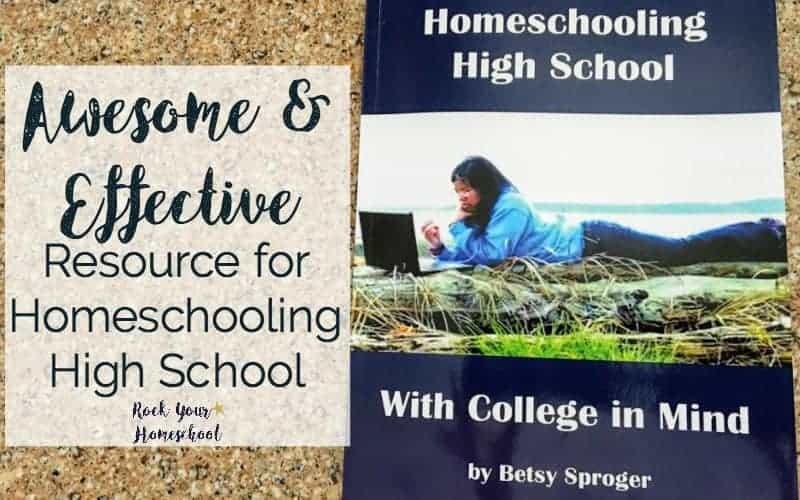 Awesome & Effective Resource for Homeschooling High School