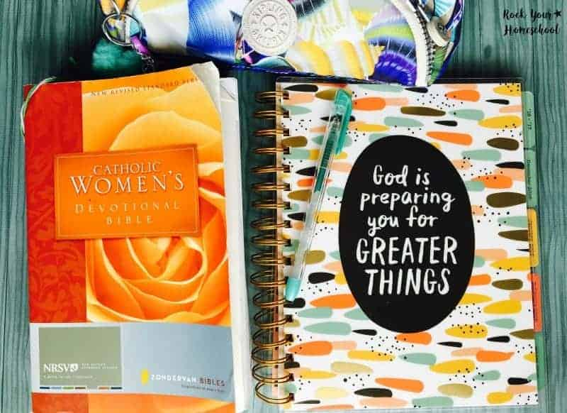 Scripture Journaling is a great daily practice for homeschool moms. The right tools can make the activity even better!