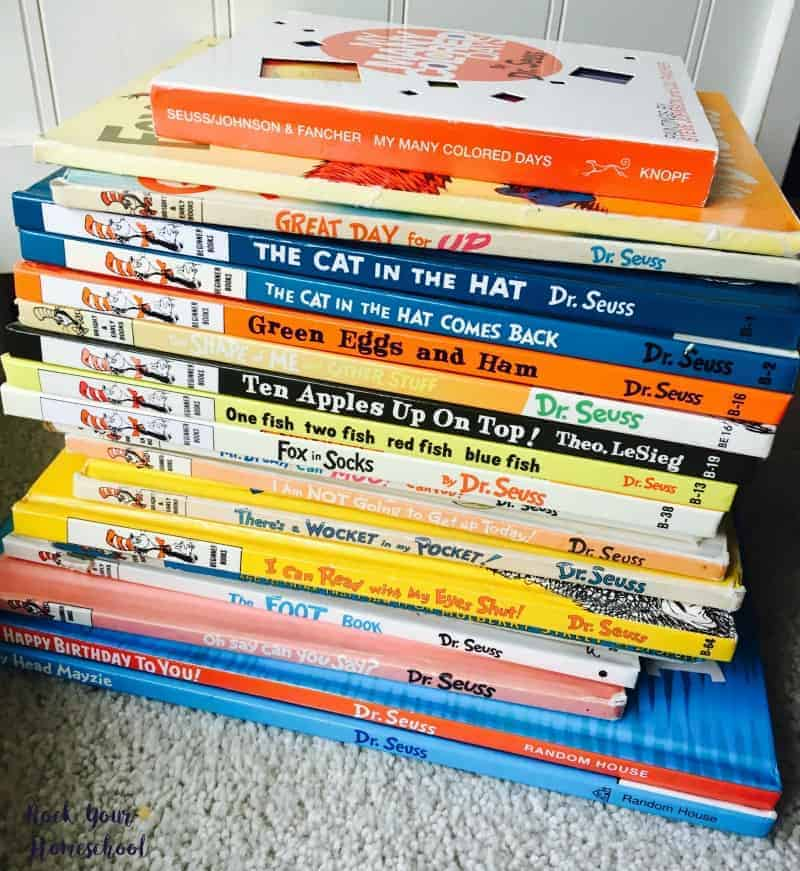 You can have so much learning fun with Dr. Seuss. Check these posts out on Rock Your Homeschool for ideas & inspiration!