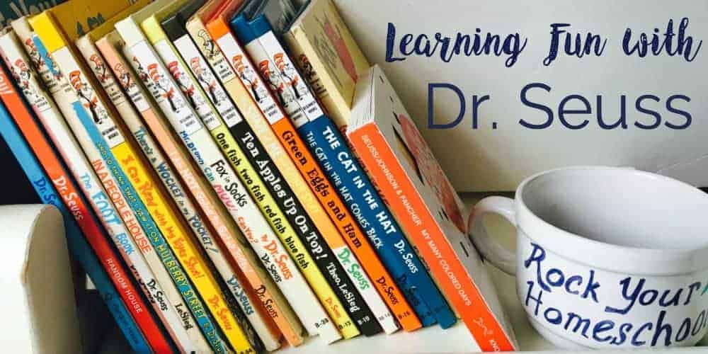 Rock Your Homeschool loves Dr. Seuss! Check out these free printables, activities, crafts, & more for use with books by Dr. Seuss.