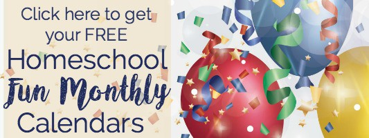 Want to add fun to your homeschool? These Homeschool Fun Monthly Calendars can help you rock your homeschool. Includes FREE printable monthly calendar and weekly supplies checklist.
