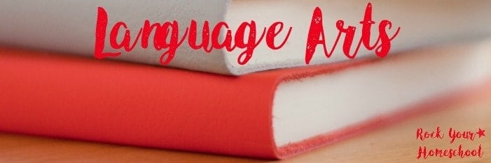 Check out these awesome FREE language arts printables for your homeschool.