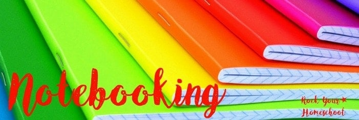 Check out these free homeschool printables for notebooking.