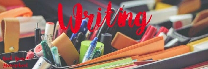 Here is an awesome list of free printables for homeschool writing.