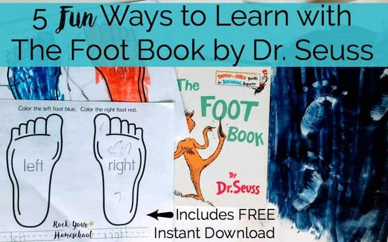 5 Fun Ways To Learn With The Foot Book by Dr. Seuss
